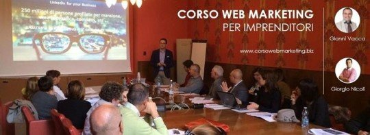 Corso Web marketing per imprenditori