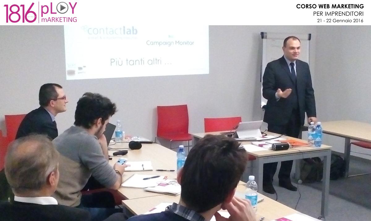 Corso Web Marketing gennaio 2016 – Gianni Vacca