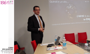 Corso Web Marketing gennaio 2016 - Giorgio Nicoli