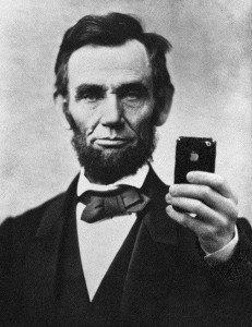 lincoln selfie