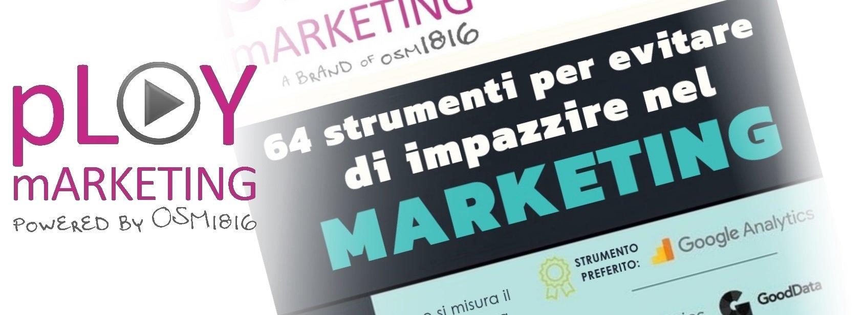 Infografica: 64 Strumenti per il marketing!